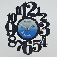 Vinyl Record Album Wall Clock (artist is Billy Idol)