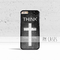Think Positive Case Cover for Apple iPhone 4 4s 5 5s 5c 6 6s SE Plus & iPod Touch