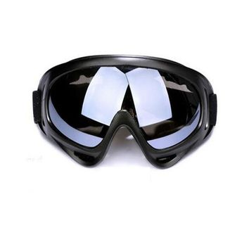 100%UV Protection Unbreakable Climbing Skiing Sunglasses Goggles Sports Protective Safety Glasses ski goggles