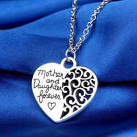 Mother's Love Heart Necklace