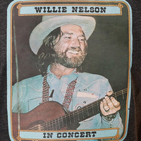 Vintage Young Willie Nelson Tee