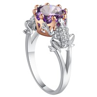 Queen of the Frogs Ring