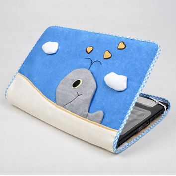 "Laptop Notebook sleeve PC computer case shell  15.6 inch 15.6"" outside protective dust coat cover holder ipad skin washable gift"