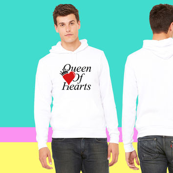 QUEEN OF HEARTS sweatshirt hoodie