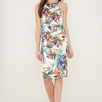 Tropical Print Sheath Dress | Forever 21 - 2000187125