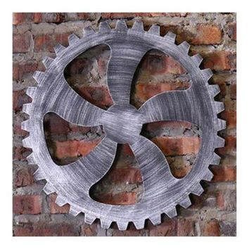 Industrial Style Gear Wall Haning Decoration    G