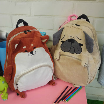 Fox or Pug Backpack