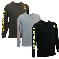 Browning Men's Classic Browning Long Sleeve T-Shirt