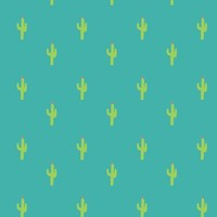 Valentine Homegrown Love Cactus - twoifbyseastudios - Spoonflower