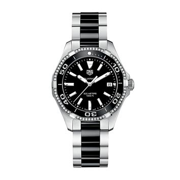 Tag Heuer Aquaracer Stainless Steel Swiss Quartz Ladies' Watch
