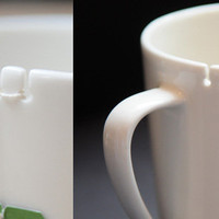 The Green Head - Tie Tea Cup