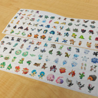 GENERATION 5 POKEMON PLANNER STICKER! PERFECT FOR YOUR ERIN CONDREN LIFE PLANNER,FILOFAX,PLUM PAPER & OTHER PLANNER OR SCARPBOOKING!