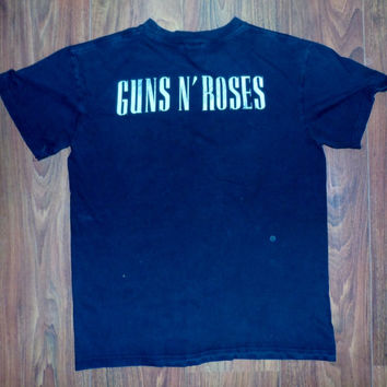 Vintage rock t-shirt - Guns n roses - vintage rock n roll t-shirt - vintage shirt - heavy metal rock vintage records