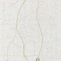 Echoed Circles Necklace- Gold One