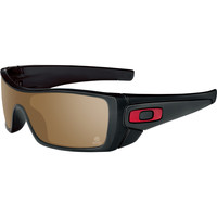 Oakley Kevin Van Dam Signature Batwolf Sunglasses - Polarized Polished Black/Ti Iridium, One