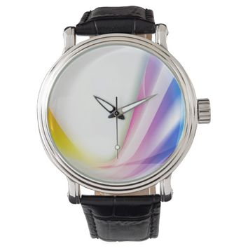 Abstract Swirl 1 Wrist Watch