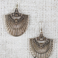 Bohemian Filigree Dangle Earrings