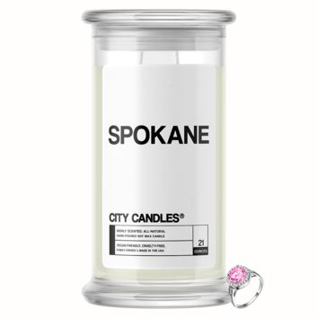 Spokane City Jewelry Candle