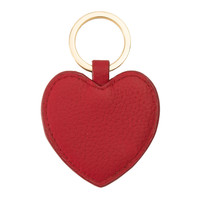 Personalised Heart Keyring, Heart Keyring Red | Not Another Bill