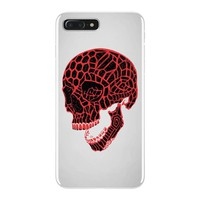 geometric skull iPhone 7 Plus Case
