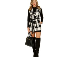 Pre-Order: Plaid Check Me Out Jacket