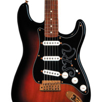 Fender Artist Series Stevie Ray Vaughan Stratocaster Electric Guitar  3-Color Sunburst