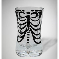 Skeleton Man 2 oz. Shot Glass