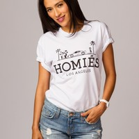 Homies Los Angeles Palm Trees Tee by Brian Lichtenberg - ShopKitson.com