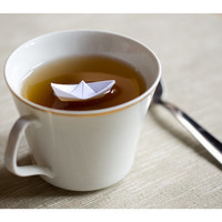 Paper Boat A4 Fine Art Photography print 8x11.5 Breakfast. Poetry. Home decor. Tea. Infusion. Origami.