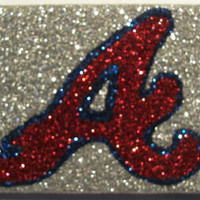 Sparkly Atlanta Braves iPhone 4/4G OR iPhone 5 Cell Phone Case