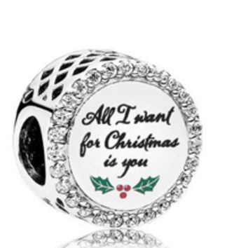 All I want for Christmas Charm