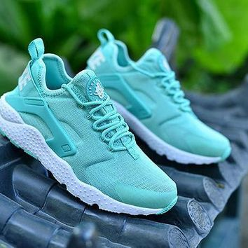 Nike Air Huarache Ultra Tiffany Blue Casual Running Sport Shoes Sneakers H 9-1