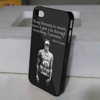 Mitch Adam Lucker Quote for iphone , samsung galaxy and ipod touch cases