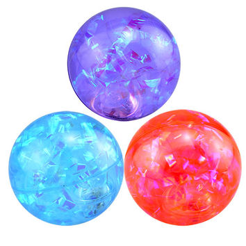 Bulk Bouncing Water Balls with Flashing LED Lights, 2.5 in. at DollarTree.com
