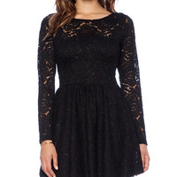 Motel Rosey Dress in Black