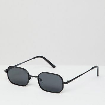 AJ Morgan square sunglasses in black at asos.com