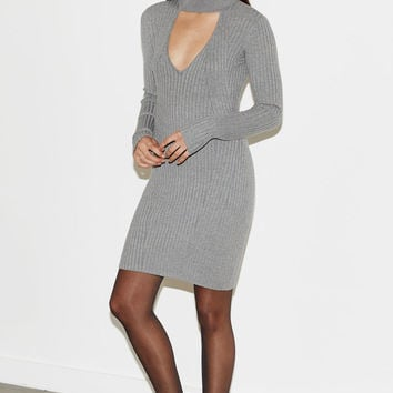 Kendall and Kylie Ribbed Mock Neck Sweater Dress at PacSun.com
