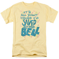 SAVED BY THE BELL/SAVED - S/S ADULT 18/1 - BANANA - 3X