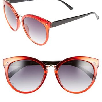 Women's A.J. Morgan 'Insistent' 57mm Retro Sunglasses