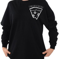It Was Love At First Bite - Long Sleeve Football Tee