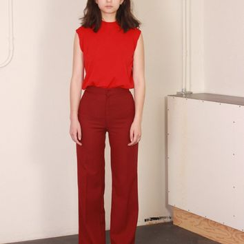 Cranberry High Rise Pants / S
