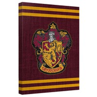 Gryffindor Stitched Crest Canvas Wall Art