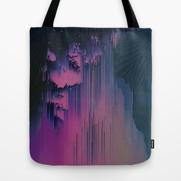Pink Fringe Tote Bag by Ducky B
