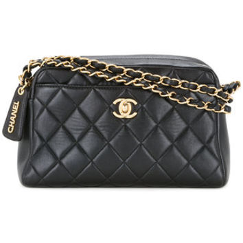 Chanel Vintage Quilted Chain Hand Bag - Farfetch