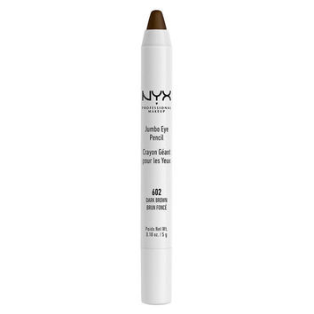 NYX - Jumbo Eye Pencil - Dark Brown - JEP602