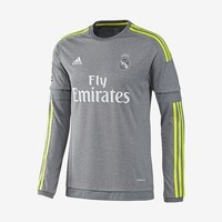 Real Madrid Away Jersey Long-Sleeve