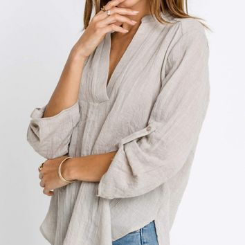 Casual Shirt, Taupe