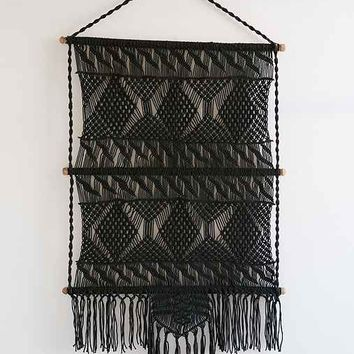 Magical Thinking Tiva Macrame Wall Hanging