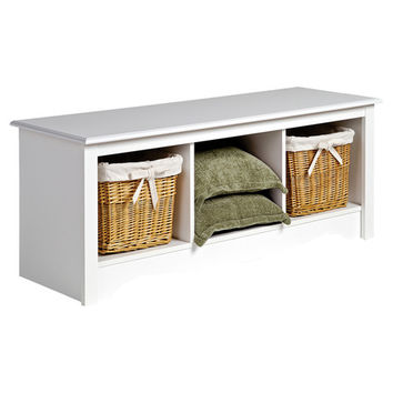 You should see this Monterey Storage Bench in White on Daily Sales!