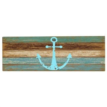 Nautical Anchor Welcome Entrance Doormat Non Slip Floor Mat Front Door Rug Bedroom Mats Living Room Decor Floor Mats Rugs